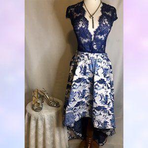 ASOS Formal High Low Floral Skirt